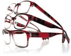 Tartan eyewear ~ love, want, need these!