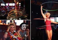 Circus Wedding! — Lauren + James