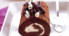 This gourmet chocolate roulade is every chocoholic's dream come true