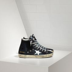 https://www.goldengoosesneakerssale.com/  167 : Francy Sneakers in Denim with Leather StarJLvyjtGd