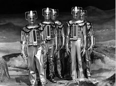The Cybermen - The Moonbase Dr Who Villains, Sylvester Mccoy, Classic Doctor Who, William Hartnell, Sci Fi Series, Classic Series, Vintage Tv, Historical Pictures, Tardis