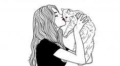 Ilustración gato Sara Herranz