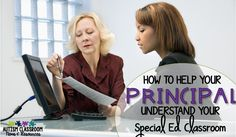 As a special education teacher, does your principal evaluate you and your classroom with the same criteria as other general education classes? Do you feel like your teaching evaluations don't reflect the needs of your students and classroom? I'm sharing tips for how to help administrators understand the needs of your students and what they might look for in evaluations. I also included ideas for how to approach administrators about this somewhat intimidating subject.
