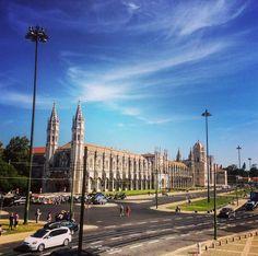 Mosterio da Santa Maria de Belém - Jerónimos Monastery / #Belém #Portugal / #architecture #history #culture #cityview