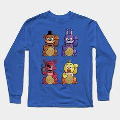 Freddy Fazbear Fortune Talismen Long Sleeve T-Shirt