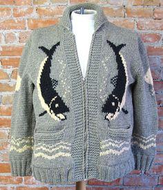 Mary Maxim Vintage Sweater by TheJavaShop on Etsy, $135.00
