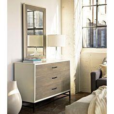 Universal Furniture Spencer 3 Drawer Dresser with Optional Mirror - UNIR2251