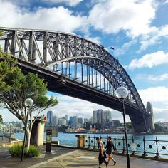 Hello Sydney! We have arrived and we brought the sunshine with us! #harbourbridge #sydneyharbourbridge #sydney #seeaustralia #discoveraustralia by petterihakkinen http://ift.tt/1NRMbNv