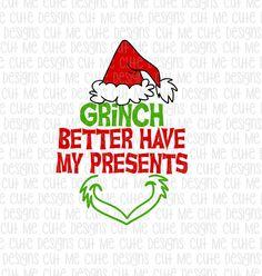 Grinch Svg Dr Seuss Svg Christmas Svg Christmas Shirt By