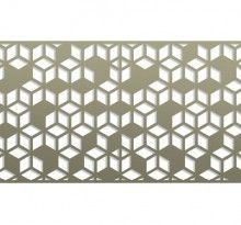 Pattern Library | Bok Modern A31 railing, fences gates, metal panels bokmodern architecture wallscreens greenscreens, architectural metal systems, laser cut metal, guardrails, sunshade, canopies, sun screens, juliet balconies, rainscreen