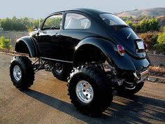 Volkswagens and Volksrods. i want this! who says bugs can't go off road now!!