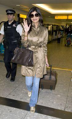 Shilpa Shetty Photo - Shilpa Shetty Departing Heathrow Airport