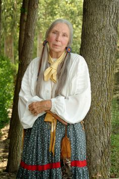 (portrayed by Helen Garrison) Cynthia Ann Parker was kidnapped by the Comanche Indians in 1836 when she was nine years old, and she became a member of the tribe.  Twenty-four years later, Cynthia Ann was re-captured by Captain Sul Ross of the Texas Rangers, and she was returned to her white relatives.    Cynthia Ann's story is dramatic, and full of happiness and sadness. She was the mother of Quannah Parker, the most powerful and famous Comanche chief of all.