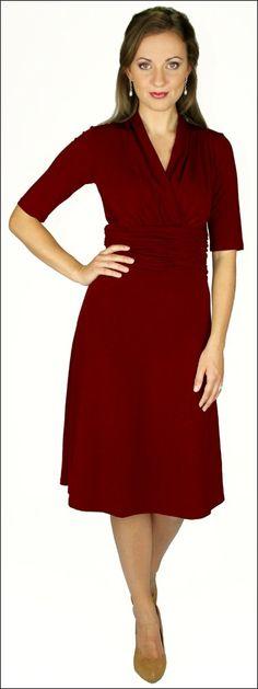 Modest IS Hottest! - Little Red Dress, $50.00 (http://www.modestishottestcanada.com/little-red-dress/)