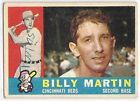 For Sale: BILLY MARTIN VINTAGE # 173 Cincinnati Reds 1960 TOPPS BASEBALL CARD http://sprtz.us/RedsEBay