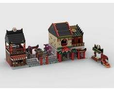 Love China? Want to improve your ninjago city? Just want to add some interest to your regular city? Excellent! This is exactly the model for you!You will find here:<font...