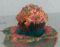 Cupcake versión arcoiris
