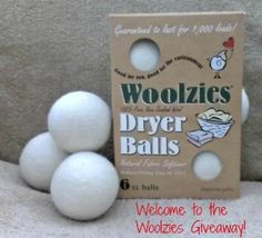 Giveaway for dryer balls!!