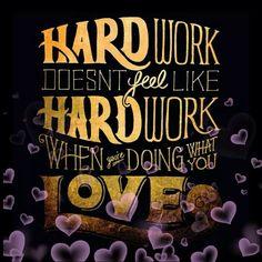 Love what u do..