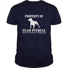 Property Of Team Pitbull Home Of The Extra Loving Dog Great Gift For Any Pitbull Lover - #t shirt printer #funny t shirts for men. SIMILAR ITEMS => https://www.sunfrog.com/Pets/Property-Of-Team-Pitbull-Home-Of-The-Extra-Loving-Dog-Great-Gift-For-Any-Pitbull-Lover-Navy-Blue-Guys.html?60505