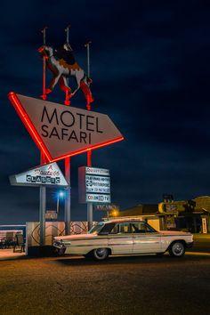 Safari Motel, Route 66 - Tucumcari, New Mexico