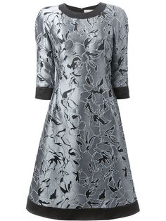 Shop Andrea Incontri floral embroidered dress in Parisi from the world's best independent boutiques at farfetch.com. Over 1000 designers from 60 boutiques in one website.