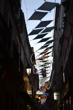 Cristmas lights, Spain.