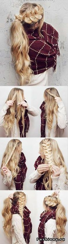 Learn how to do a waterfall braid tutorials hair style and makeup tpsheaderis a braided crown hairstyle a look you want to try do you think a perfect braided crown hairstyle is too difficult for you to do on your own solutioingenieria Choice Image