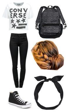 """""""#Cute Converse Outfit!!"""" by eason-elizabeth ❤ liked on Polyvore featuring Converse, Proenza Schouler, Victoria's Secret and yunotme"""