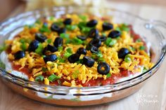 Seven-layer dip is the greatestdip of all time. Well, I think so anyway. I am a Mexican foodfanatic, andcan never getenough of it. Whenever I'm around this dip,I usually have toask someone to pry meaway from it because I could eat it all in one sitting : /  Seriously.  ...Read More »
