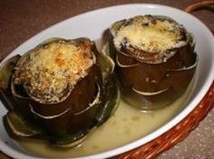 Stuffed Artichokes-A holiday tradition.