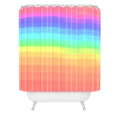 Chelsea Victoria Colorful Shower Curtain | DENY Designs Home Accessories