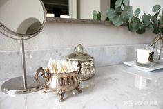 Crazy Wonderful: framed bathroom mirror