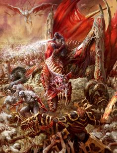 http://wellofeternitypl.blogspot.com Age of Sigmar Artwork | Ghoul King…