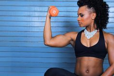 As a fitness and life coach I've discovered some best practices on how to protect natural hair when working out. Here are my top five tricks!