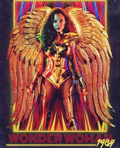 FAN-MADE: Wonder Woman 1984 fan poster by finalgirl. Wonder Woman Film, Gal Gadot Wonder Woman, Wonder Women, New Movies, Movies Online, Movies And Tv Shows, 1984 Movie, Super Heroine, Fan Poster