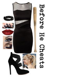 """""""Song Style- Before He Cheats by Carrie Underwood"""" by divergent-oncer ❤ liked on Polyvore featuring Louisville Slugger"""