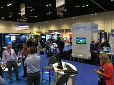 PGA SHOW 2014 - our booth from  distance
