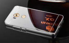 Huawei Mate 8 Metal Bumper + Mirror Back Case