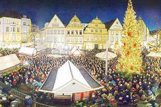 Bei unserem Fotowettbewerb können Sie ein Wohlfühlwochenende gewinnen +++  Überblick der Advents- und Weihnachtsmärkte in Ostwestfalen-Lippe