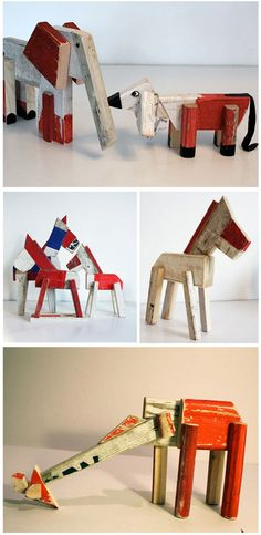 Aww, I am just crazy about these recycled and artistic toys. re:Something and designer,  A.M. Victoria Ladefoged is an innovative Danish design company devoted to creating a sustainable consumer culture by developing high quality designs from recycled materials. They turn waste into high-end fashion and other cutting edge designs. The animal collection above was handcrafted from …