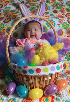 Easter Baby Photo