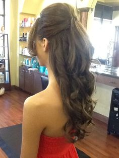 Beautiful Up Do for Long Hair. By Erika Henderson