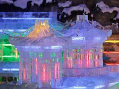 Chinese ice sculptures