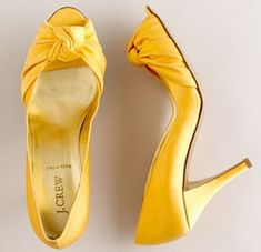More yellow shoes