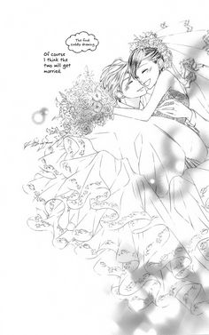 Tamaki and Haruhi getting married :)  These two they are just great. Even though that manga ended, I still adore this series. My favorite Shojo.