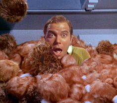 """Making Tribbles! As in """"The Trouble With...""""! These will make an amazing nerd-gift someday!"""