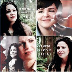 Snow and Regina - such a complex and beautiful relationship.