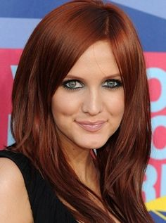15 Sensational red hair color. Top red hair color for women. Best shades of red…