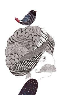 Illustrations inspired by Indian folk art and modern day minimalism Easy Doodle Art, Doodle Art Designs, Madhubani Art, Madhubani Painting, Doodle Art Drawing, Art Drawings, Mandala Drawing, Pencil Drawings, Doddle Art